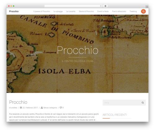 Smallblog top WordPress theme - procchio.org