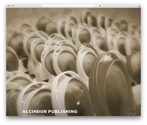 Twenty Seventeen WordPress theme - alcindorpublishing.org