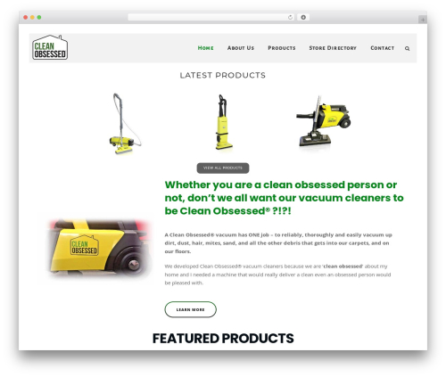 WordPress theme DPR Bruno - cleanobsessedproducts.com