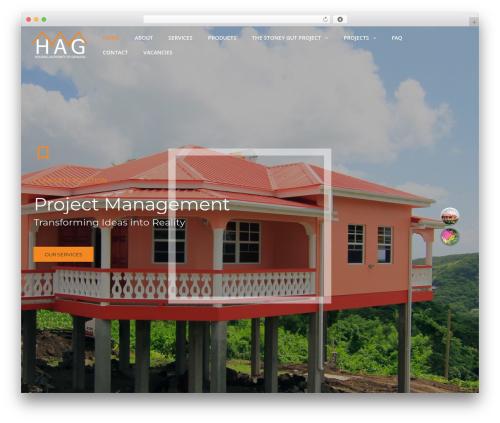 WordPress theme TheBuilt - hag473.com