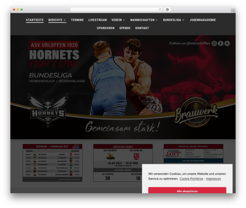 Divi theme WordPress - asvurloffen.de