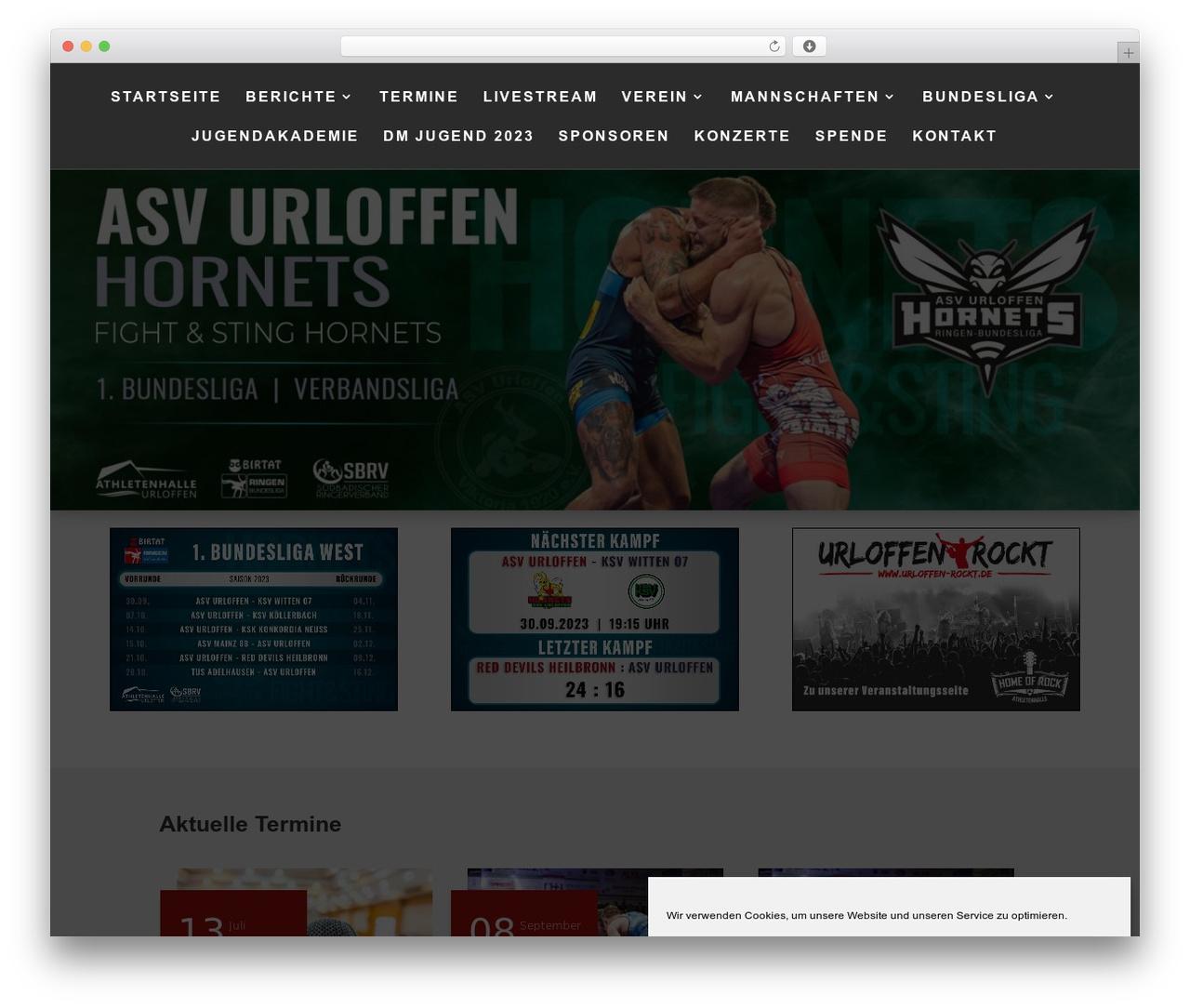 Divi theme WordPress - asvurloffen.de