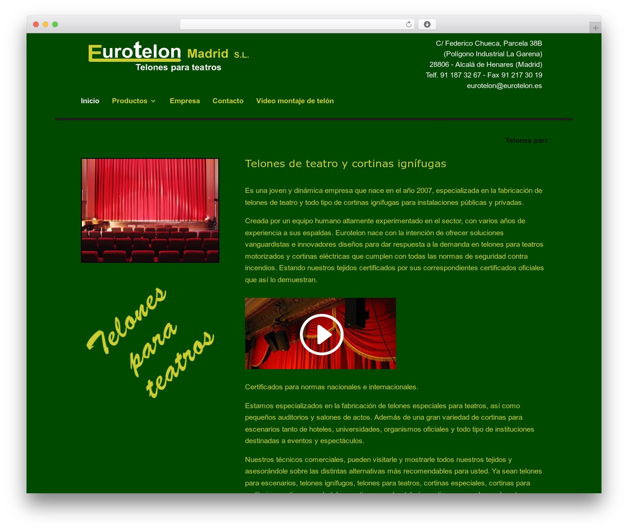 Divi WordPress theme - eurotelon.com