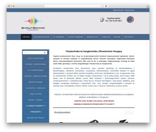 harveststore WordPress ecommerce template - showtechnic.hu