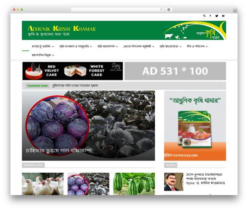 Newspaper WordPress news template - akkbd.com
