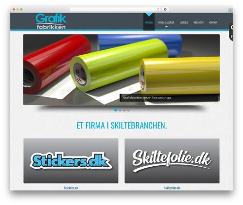 WordPress theme D5 Business Line Extend - grafikfabrikken.dk