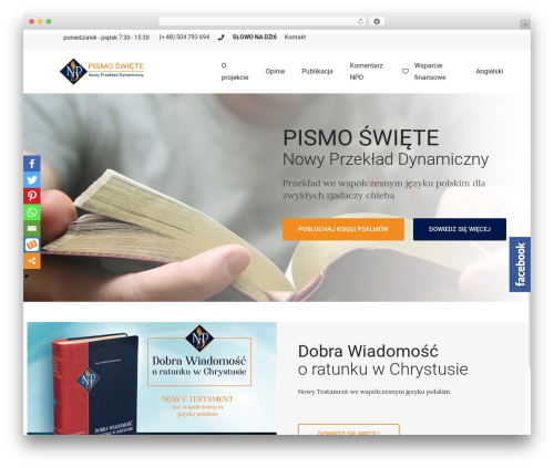 Livre WordPress theme - biblianpd.pl