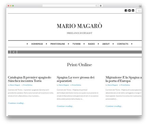 Mokka WP template - mariomagaro.com