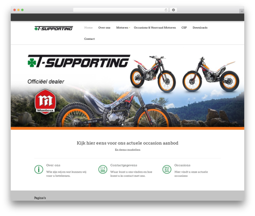 SaleJunction Pro WordPress template - t-supporting.nl