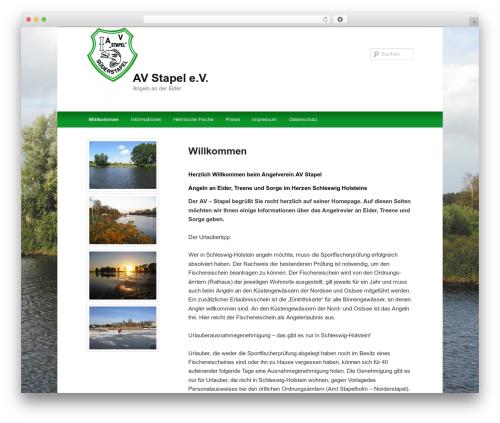 Twenty Eleven best free WordPress theme - av-stapel.de