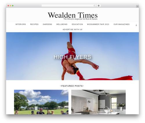 Twenty Seventeen free WordPress theme - wealdentimes.co.uk