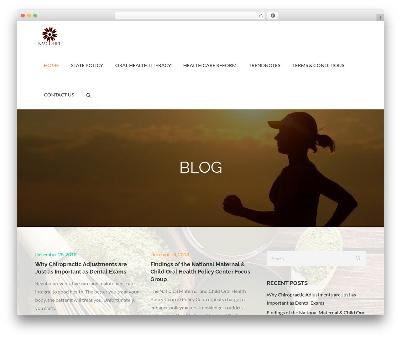 Pet Business WordPress template - nmcohpc.net