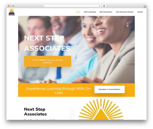 Template WordPress Movedo - nextstep-associates.com