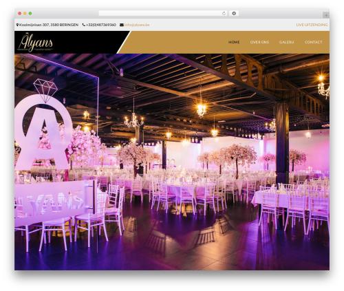 Veda best WordPress theme - alyans.be