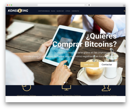 WordPress theme Konsulting - nachomartinez.net