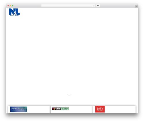 Responsive best free WordPress theme - ninian.co.za