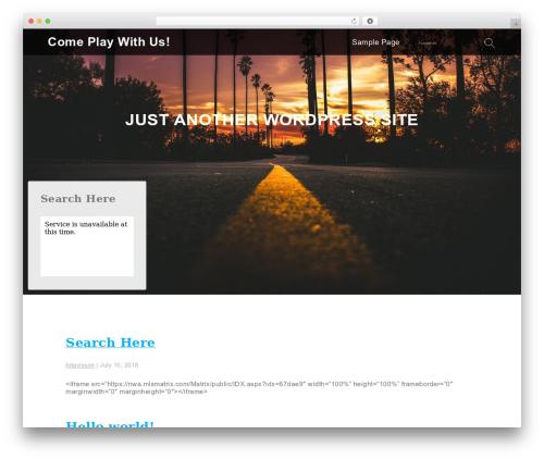 Services theme WordPress - nwaplay.com
