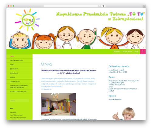 Anjirai WP theme - przedszkolewzebrzydowicach.pl