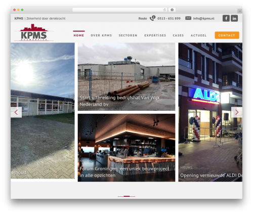 MediaSoep Recept WordPress theme design - kpms.nl