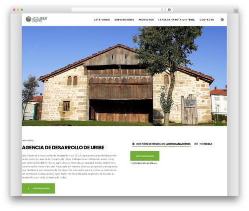 Movedo WordPress theme - jataondo.org