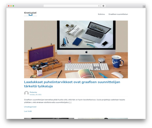 Singularity template WordPress free - kineticpixel.fi