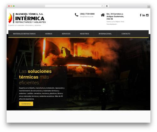 SKT Construction Pro WordPress theme - intermica.net