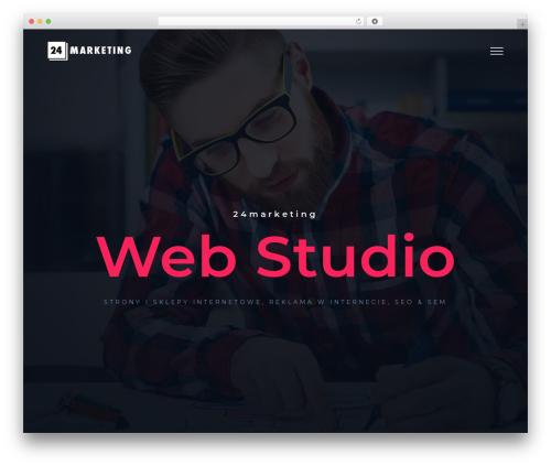 WordPress theme Avada - 24marketing.pl