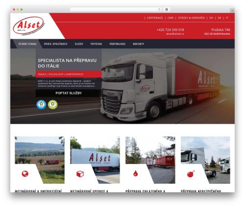 WP theme TM Transport - alset.cz