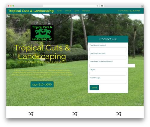 CITYscape theme WordPress - tropicalcuts.com
