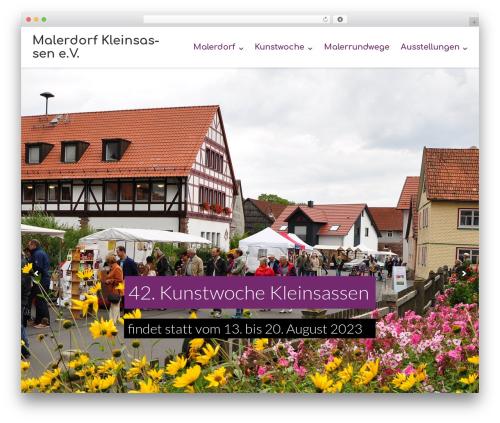 Template WordPress Ultra - malerdorf-kleinsassen.de