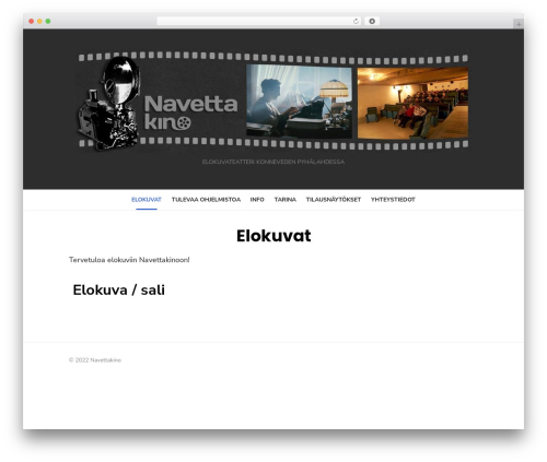 Type Plus WordPress theme - navettakino.fi