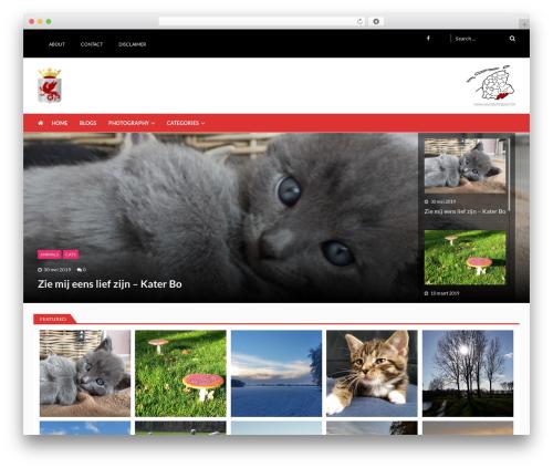 VMagazine Lite premium WordPress theme - weststellingwerf.org