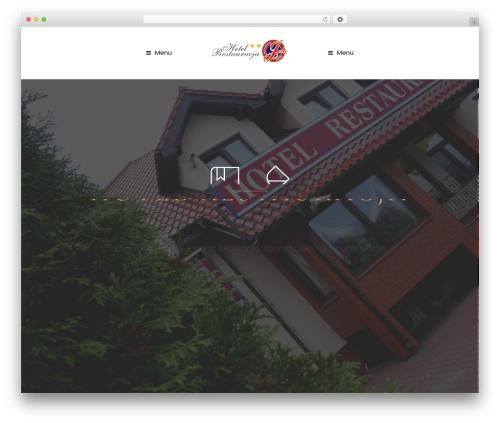 WP theme Diaz - hoteljola.pl
