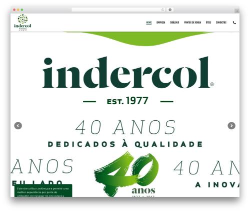 Movedo WordPress theme - indercol.pt