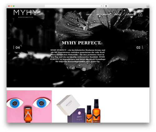 WordPress theme Bazaar - my-hy.net