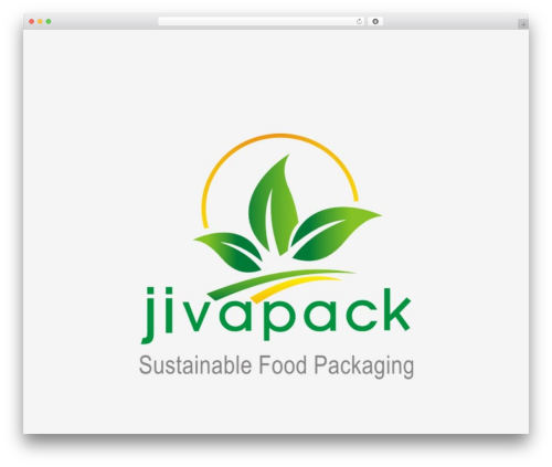 Cuber food WordPress theme - jivapack.com