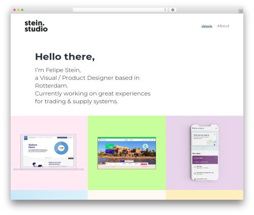 SohoPRO WordPress theme - stein.studio