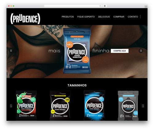 Averly WP theme - useprudence.com.br