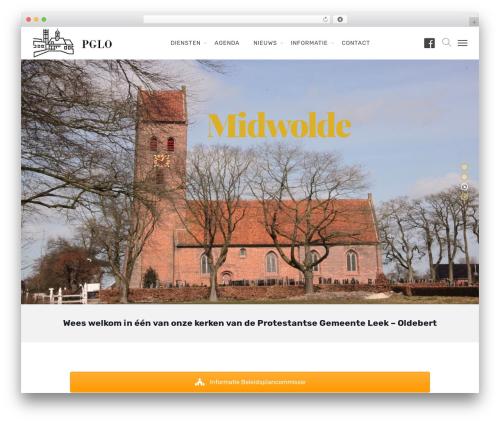 Deep template WordPress - pglo.nl