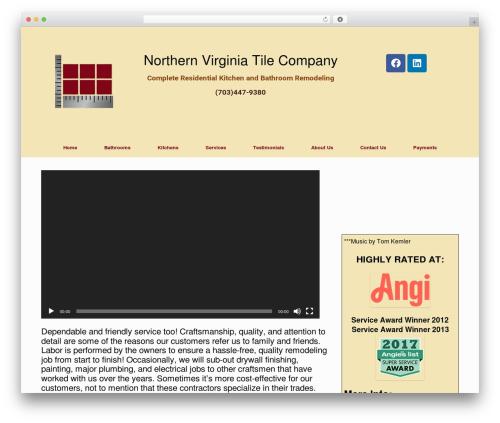 Vantage Premium template WordPress - nvtileco.com