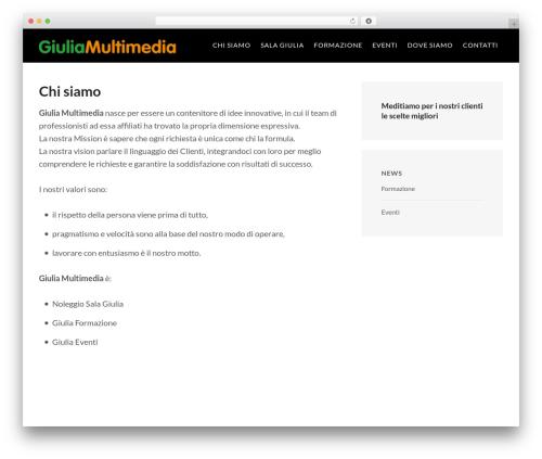 FastBlog WordPress theme - giuliamultimedia.com