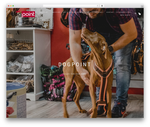 ShopIsle PRO WordPress shopping theme - go4dogs.de