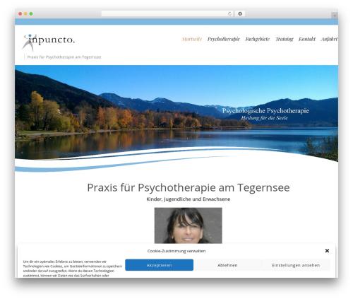 Longevity theme WordPress free - inpuncto-kids.de