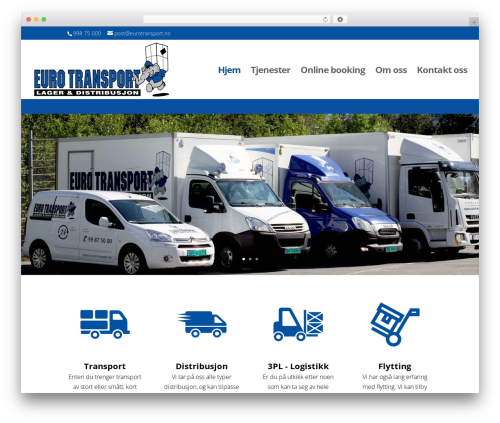 Divi WordPress theme - eurotransport.no