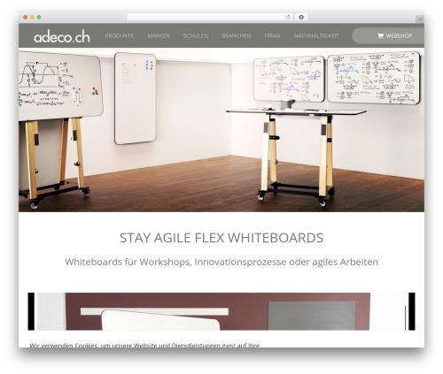 WordPress woocommerce_postfinancecw plugin - adeco.ch