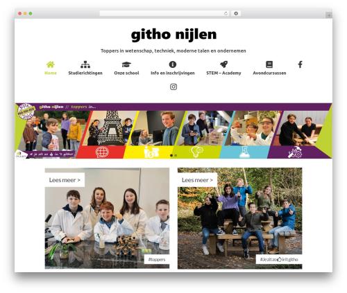 Virtue Premium - Bold WordPress theme - githonijlen.be