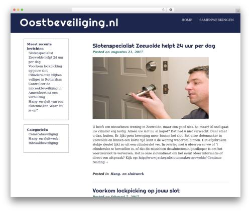 Template WordPress eyesite - oostbeveiliging.nl