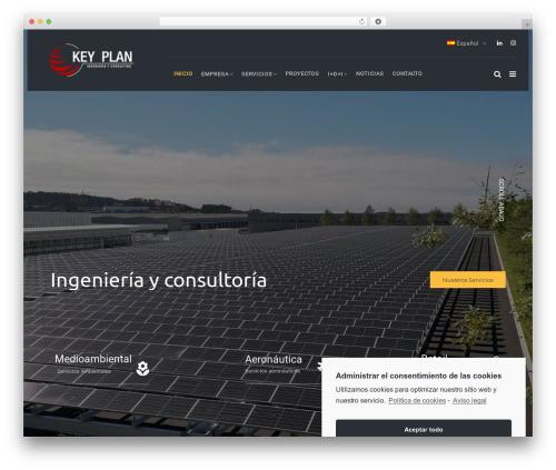 TheBuilt theme WordPress - keyplan.es