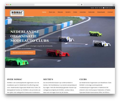theme001 WordPress theme - nomac.nl