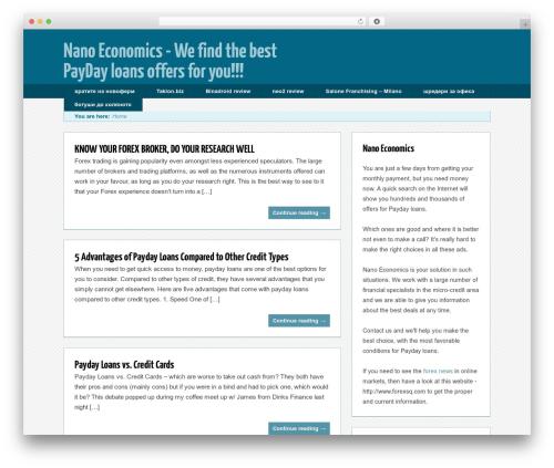 Trending top WordPress theme - nanoeconomics.eu